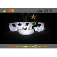 16 Colors Changeable LED Bar Tables / Illuminated round bar table