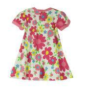 Babies' dress with allover print, made of 100% cotton interlock