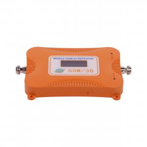 China Dual Band GSM 900MHZ / 3G 2100MHZ Signal Amplifier, LCD Display 2G/3G Mobile Phone Booster - EU Plug on sale