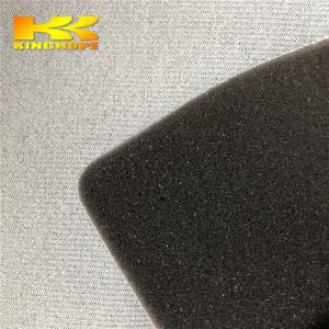 China Jinjiang fabric with sponge manufacturer brushed knit tricot lining fabric for sneakers and sports shoes on sale