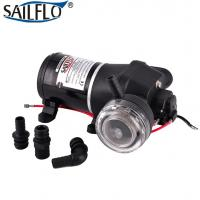 China Dc 12.5LPM electric self priming fl-35 12 volt demand diaphragm marine RV boat sea water pump on sale