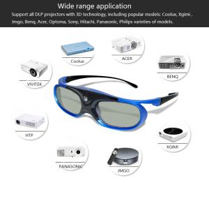 China Active Shutter 3D Glasses with Rechargeable match all DLP 3D projector YANTOK on sale
