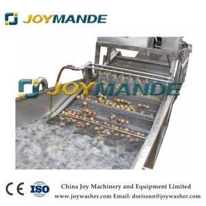 China Hot SaLe Industrial Apricot Plum Washing Cleaning Machine With CE on sale