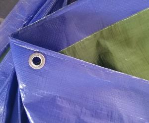 China All purpose covering dark blue/olive green color pe tarpaulin sheet on sale