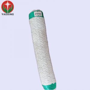 China steam pipe heat insulation material refractory ceramic fiber square braided silica rope on sale