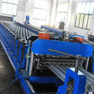 China Grain Steel Silo Roll Forming Machine / Spiral Roofing Sheet Making Machine on sale