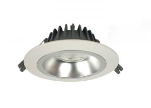 China Pure White LED Recessed Downlights , AC100 - 240V 10w LED Downlight on sale
