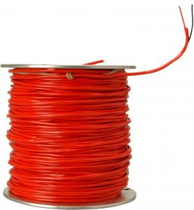 China FRHF 2 Cores Fire Resistant Cable Solid Bare Copper with Silicone Insulation on sale