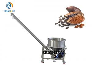 China Industry Food Powder Conveyor Feeder Systems Cocoa Coffee Flour Screw Feeder on sale