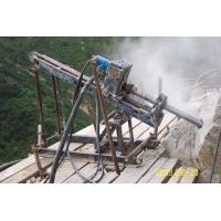 Rock Anchor Drilling Rig / Hydraulic Drill Machine For Railway Depth 30m