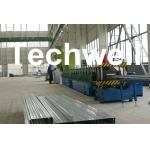 Q235 Cold Rolled Strip / Hot - Dip Galvanizing Steel Cable Tray Roll Forming Machine
