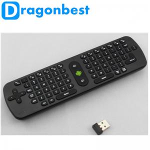 China Air Flying Mouse RC11 Keyboard Wireless Keyboard For Google TV Mini Fly 2.4Ghz on sale