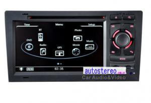 China Audi A8 S8 1994 - 2003 Audi Car Stereo Device Multi-Languages and Steering Wheel Control on sale
