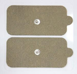 China Self-Adhesive Reusable TENS Pads , Electrode Pads With Snap Connector on sale
