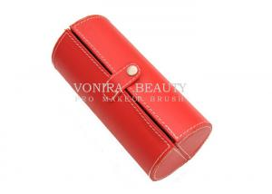 China Travel Cosmetic Makeup Brush Bag Case Button Cylinder Pouch Storage on sale