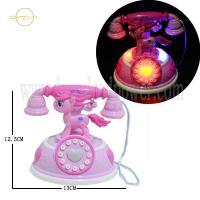 Lovely Cartoon Flashing Light Up Toys Plastic  Glow In The Dark Toys