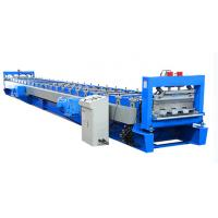 China Full Automatic Steel Floor Tiles Making Machine High Speed Production on sale