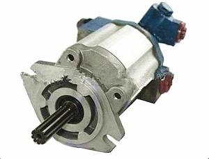 China Aluminium Hydraulic Pump Forklift Truck Components For Mitsubishi S4S Engine on sale