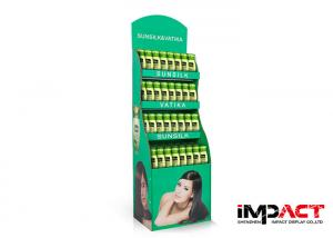 China Fashionable Cardboard Point Of Sale Display Stands For Store Logo Custom Printed on sale