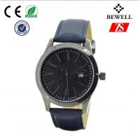 Black Big Face Quartz Stainless Steel Watch For Men And Women