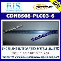 CDNBS08-PLC03-6 - BOURNS - Steering Diode/TVS Array Combo - sales009@eis-ic.com