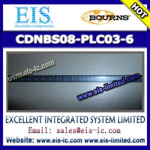 China CDNBS08-PLC03-6 - BOURNS - Steering Diode/TVS Array Combo - sales009@eis-ic.com on sale