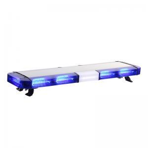 China Blue Led Light Bars For Emergency Vehicles , Police Warning Lights Aluminum Frame on sale