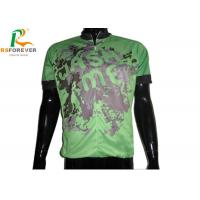Custom Sublimation Printed Cycling Jerseys For Mountain Bike Sportswear