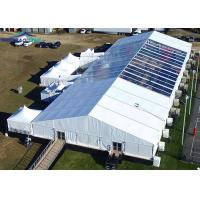 Large 30 x 70m Aluminium Frame Marquee Tent With PVC Sidewall And Beautiful Inner Decoration
