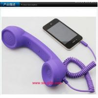 China Phone Handset,Anti Radiation.No volume for iphone 4s/laptop/ipad Retro Telephone Receiver on sale