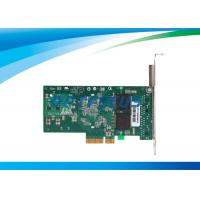 PC Fiber Network Card Quad Port Gigabit Ethernet x4 Server Adapter RJ45