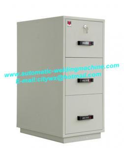 China Security Durable Fire Resistant File Cabinet , Magnetic Proof Data Cabinet on sale