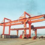 Adjustable Double Girder Gantry Crane / Ship Container Crane Box Type