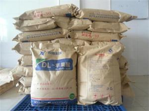 China DL-Malic acid/FOOD ADDITIVE/ FOOD GARDE/ NUTRITION SUPPLEMENT supplier