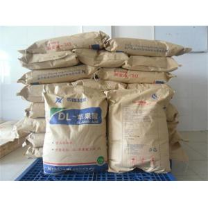 China DL-Malic acid/FOOD ADDITIVE/ FOOD GARDE/ NUTRITION SUPPLEMENT on sale
