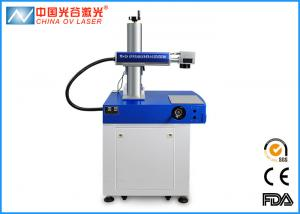 China 20W Optical Fiber Laser Marking Machine For Jewelry Gold Ring Plastic on sale