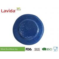 China High End Classic Design Melamine Dinner Plates Biodegradable For Outdoor / Indoor on sale