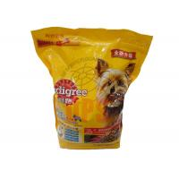 China Large Pet Food Packaging Plastic Zipper Bags For StorageAluminium Laminated Material on sale