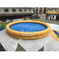 Round Baby Kids Safety Inflatable Swimming Pool With Logo Printing