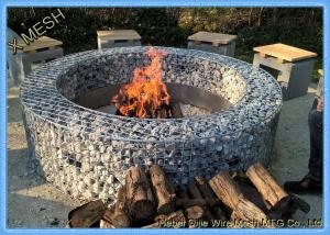 China Hot Dipped Galvanized Garden Welded Gabion Retaining Wall / Welded Gabion Stone Cage Box on sale