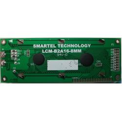 Big size Character LCD Display 16x2 dots,16X2 character LCM