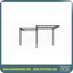 China best sell concert aluminium tri truss/Lifting Tower 200KG Truss Stand 6.5M Height Hand Winch Truss on sale