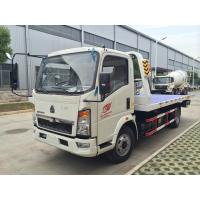 China Mini  Howo 4 x 2  Light Duty Commercial Trucks , 5t Towing Wrecker Truck/broken vhicles carrier on sale