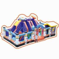 China Cheer Amusement Space Themed Inflatable Fun City Amusement Equipment Supply on sale
