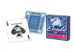 Quality Cartamundi bilingue Eagle a marqué des cartes de jeu de tisonnier pour la fraude for sale