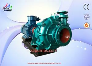 China Fine Sand Extraction Special Pump , Ash Residue Slurry Suction Pump 100 ZJ on sale