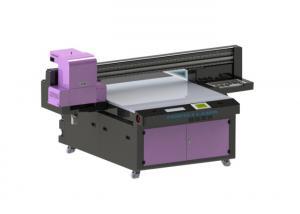 China Decorative Digital UV Flatbed Printer Machine / Large Format Uv Printer 8 Colors Painting on sale