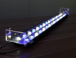 China 120W Blue / White Aquarium LED Light Bar 39leds For Fish Tank on sale