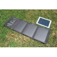 60 / 100 / 150W Foldable Solar Panel Charger , Portable Solar Panel Usb Charger For Camping