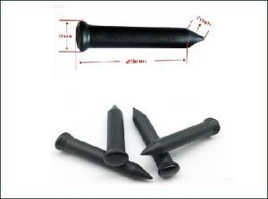 Compact UHF Tree Nail Tag , Micro RFID Tags Aluminum